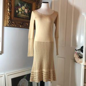 TEMPERLEY LONDON KNIT DRESS    size 10